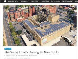 The Sun is Finally Shining on Non Profits: CAP Solar