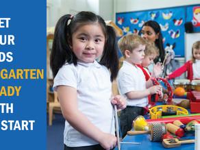 Get Your Kids Kindergarten-Ready With Head Start