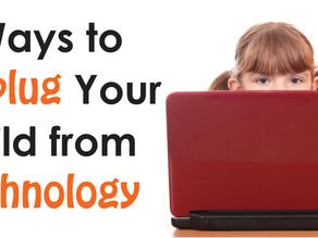 5 Ways To Unplug Your Child From Technology