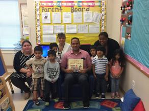 Jersey City BOE President Visits Head Start!