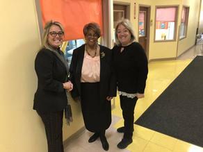 Paterson Mayor Jane Williams-Warren Visits Head Start