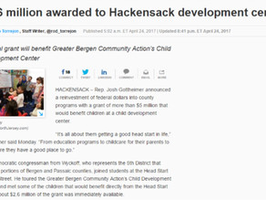 $2.6 Million Awarded to GBCA Childhood Development Center of Hackensack