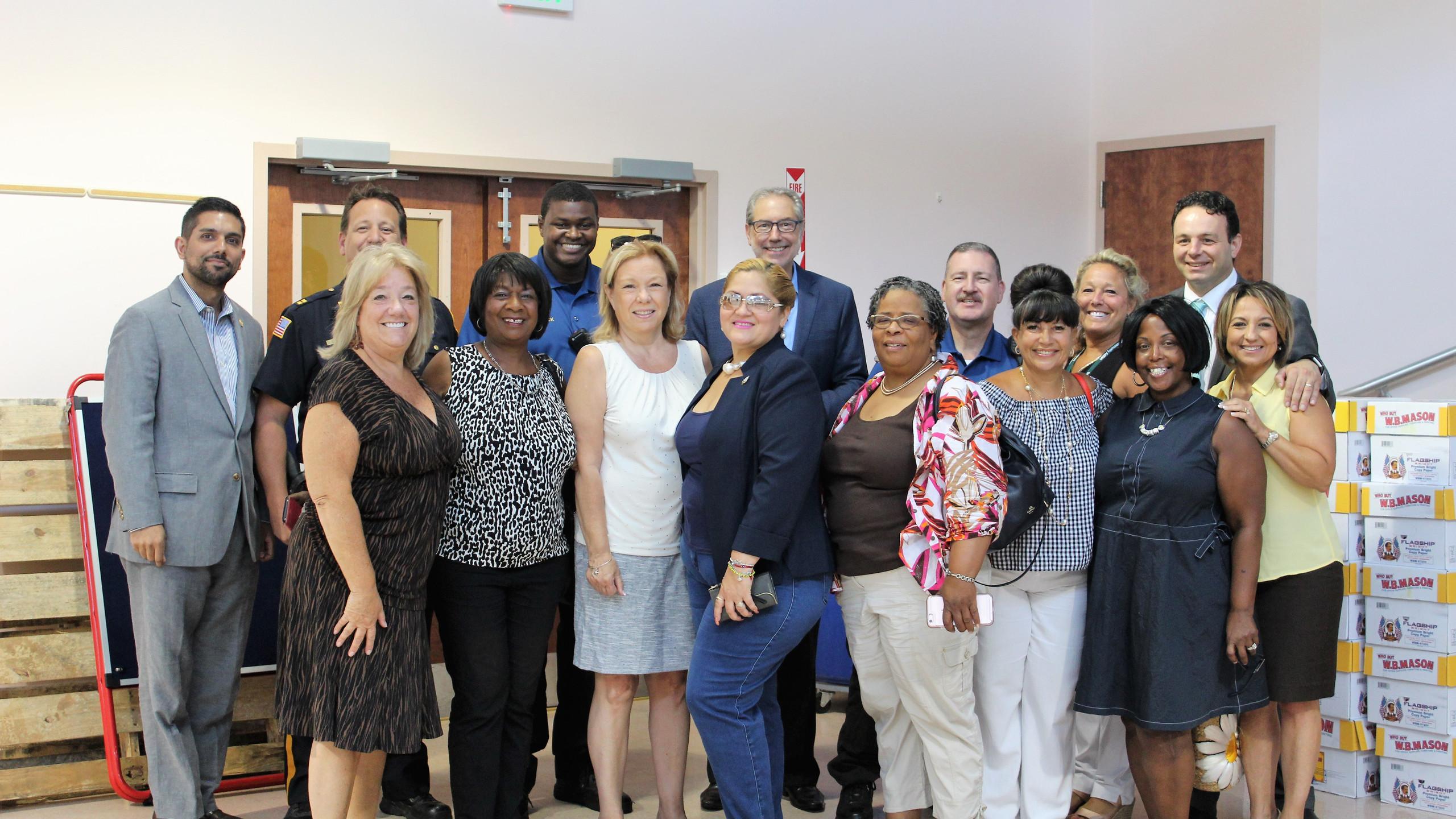 Community Leaders in Eastside Center