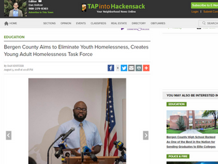 Bergen County Aims to Eliminate Youth Homelessness, Creates Young Adult Homelessness Task Force
