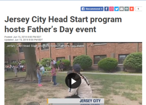 Jersey City Head Start Program Hosts Father's Day Event