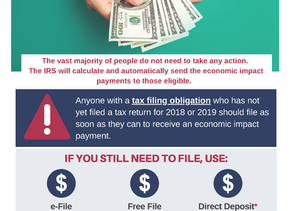 IRS Economic Impact Payments: What You Need To Know