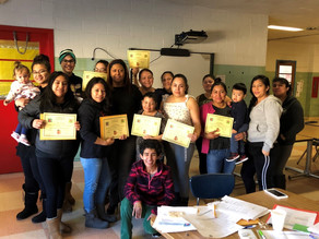 Cliffside Park Head Start Families Learn about Nutrition