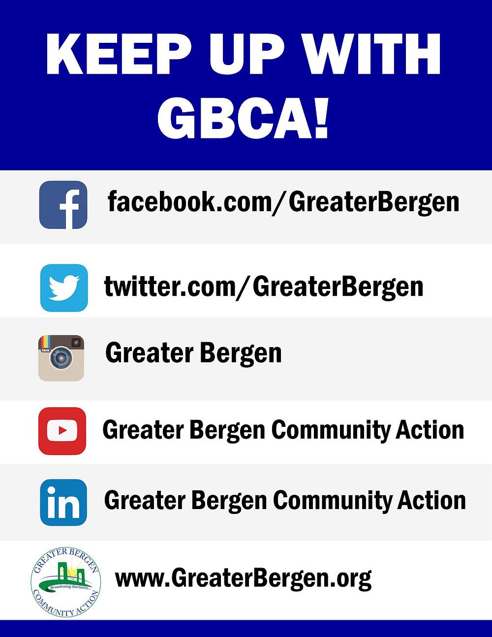 KEEP UP WITH GBCA!