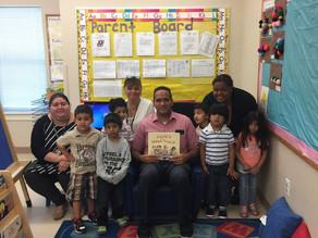 Jersey City BOE President Visits GBCA's Lincoln Park Preschool Head Start Location