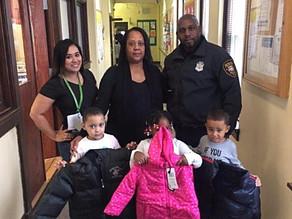 Paterson's PBA Local No.1 Donates Coats to Head Start Children