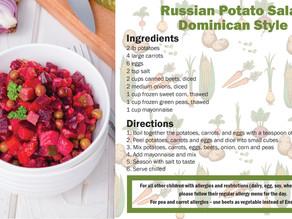 Culture of Food Day: Ensalada Rusa