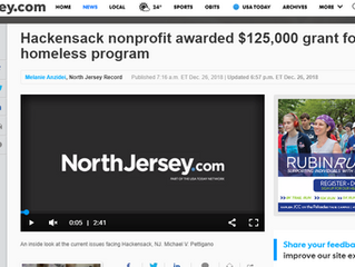 Hackensack nonprofit awarded $125,000 grant for homeless program