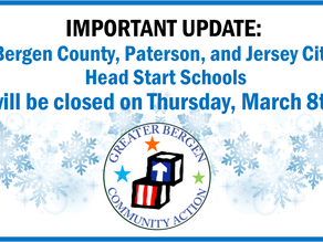 All GBCA Head Start Schools Closed Thursday, March 8th
