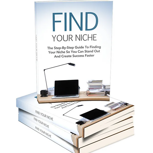 FIND YOUR NICHE EBOOK