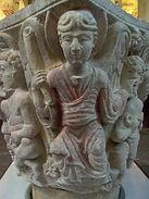 chapiteau de l'Apocalypse abbaye de Mozac