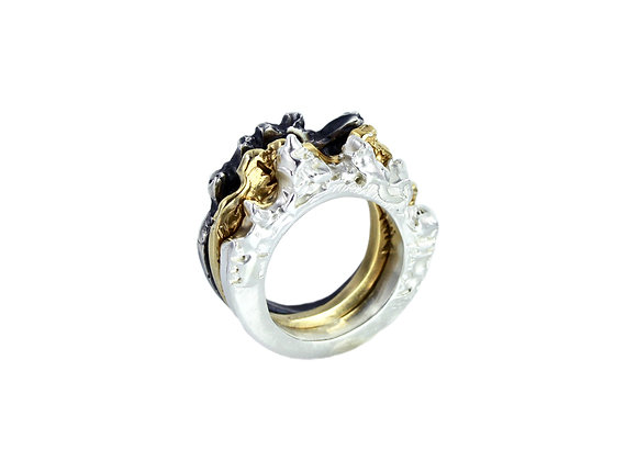 melting ice stacker ring