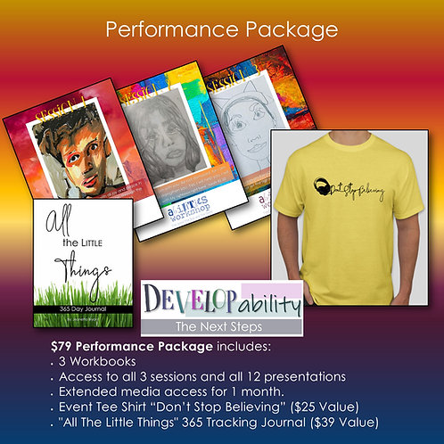 Performance Package - DEVELOPability
