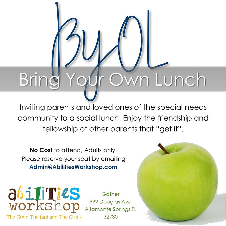 BYOL Bring Your Own Lunch