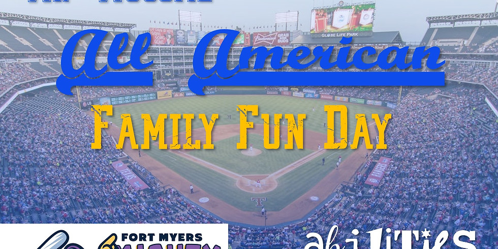 SOLD OUT -Family Fun Day