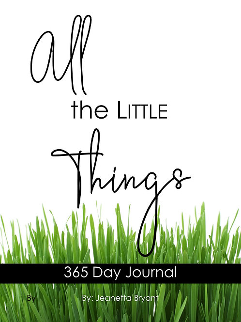 All the Little Things Journal