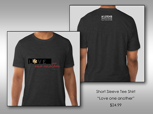 """Love One Another"" Short Sleeve Tee"