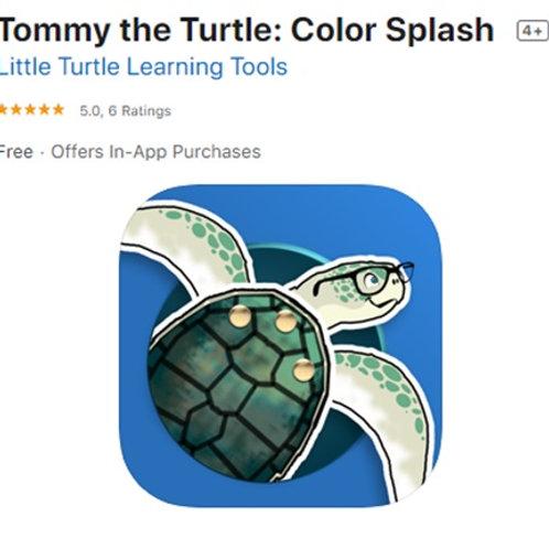 "Little Turtle Learning Tools ""Color Splash"""