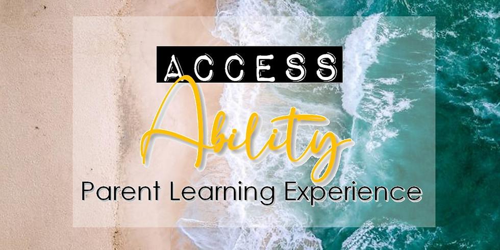 Access Ability- Parent Workshop