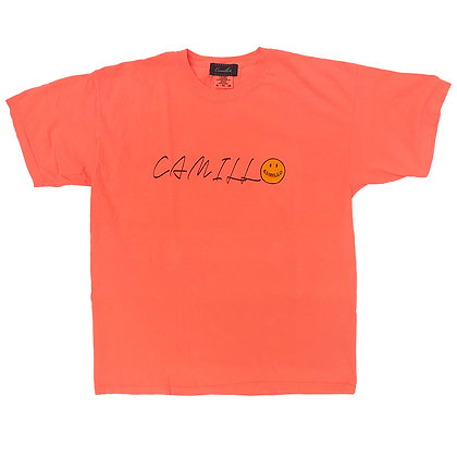 CAMILLO HELLYEAH TEE ( NEON ORANGE )