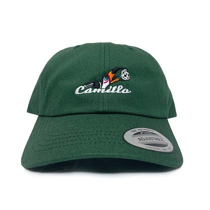 "CAMILLO PARROT ""PARROT"" DAD CAP <SPRUCE>"