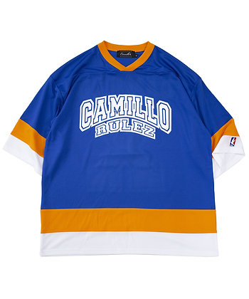 CAMILLO 10TH ANNIVERSARY HOCKEY TEE  ( BLUE )