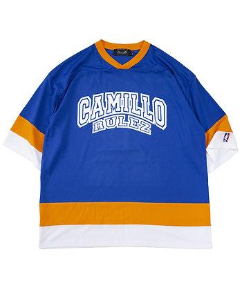 CAMILLO 10TH ANNIVERSARY HOCKEY TEE  ( BLUE )