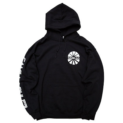 CAMILLO BE QUIET AND DRIVE P/O HOODIE <BLACK>