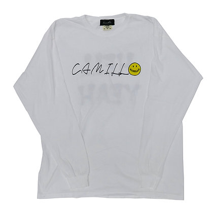CAMILLO HELLYEAH L/T TEE ( WHITE )