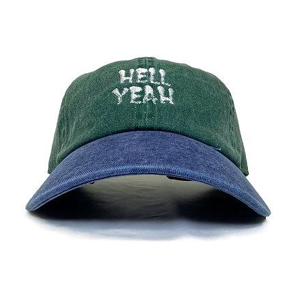 CAMILLO HELLYEAH 2TONE DAD CAP <GREEN>
