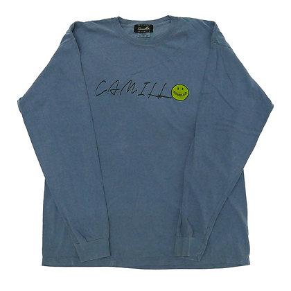 CAMILLO HELLYEAH L/T TEE ( BLUE JEAN )