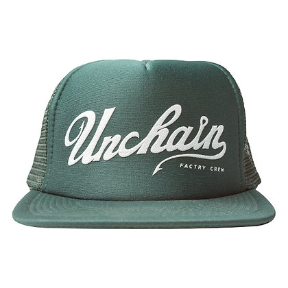 UNCHAIN factory Good day? mesh cap <green>