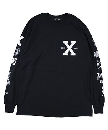 CAMILLO 10TH ANNIVERSARY L/S TEE  ( BLACK )