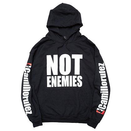 CAMILLO NOT ENEMIES P/O HOODIE (BLACK)