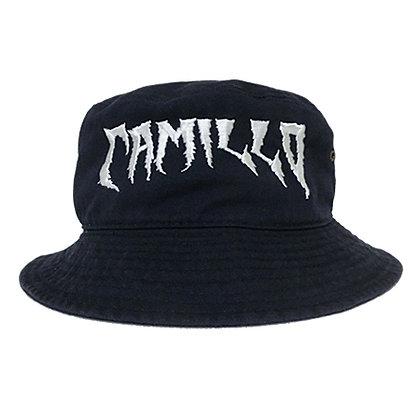 CAMILLO DEVIL WASHED BUCKETHAT NAVY