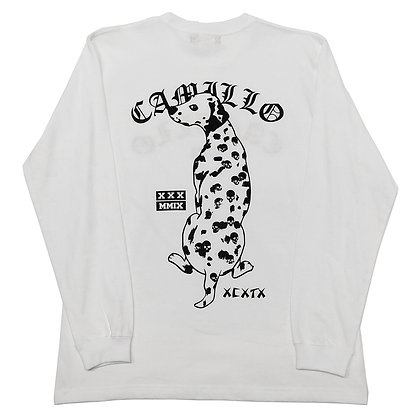 CAMILLO LB DOG L/T TEE (WHITE)