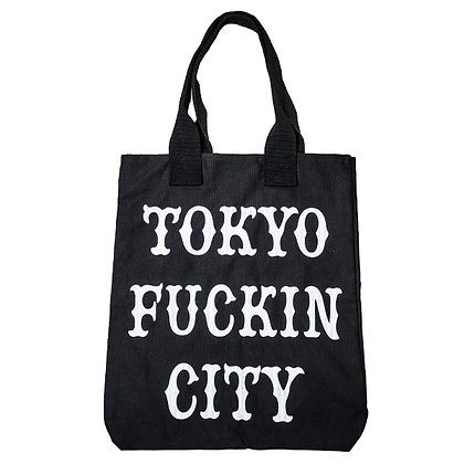 CAMILLO TOKYO FUCKIN CITY TOTEBAG <BLACK>
