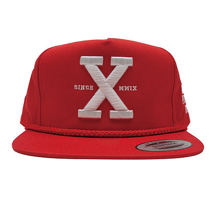 CAMILLO 10th ANNIVERSARY SNAPBACK CAP <RED>