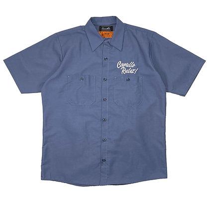 CAMILLO RULEZ WORK SHIRTS (POSTMAN BLUE)