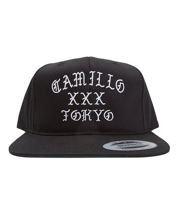 (KIDS) CAMILLO LOGO SNAPBACK  (BLACK)