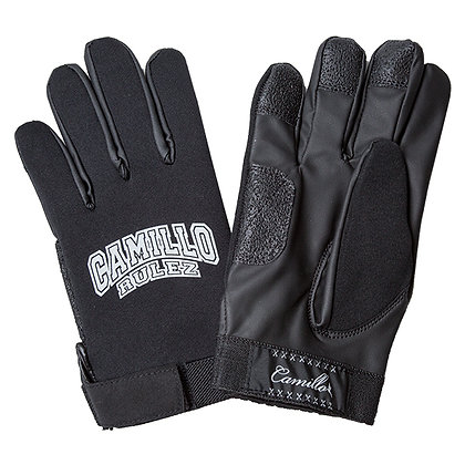 CAMILLO NEOPRENE GLOVE / RULEZ  <BLACK>
