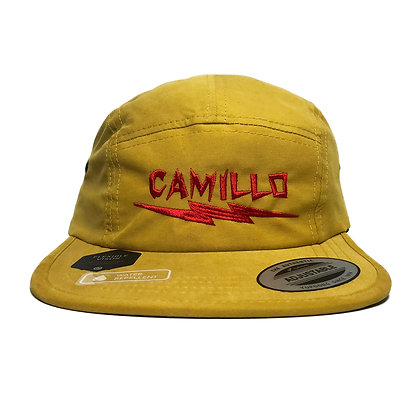 CAMILLO X BONE Water Repellent Cap ( MUSTARD )