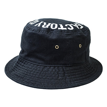 UNCHAIN factory Bucket hat <black>