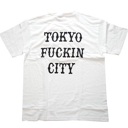 CAMILLO TOKYO FUCKIN CITY TEE <WHITE>
