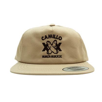 CAMILLO FINGER [ X ] CAP  ( BEIGE )