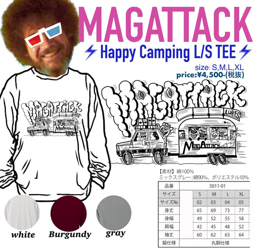 HAPPY CAMPING L/S TEE